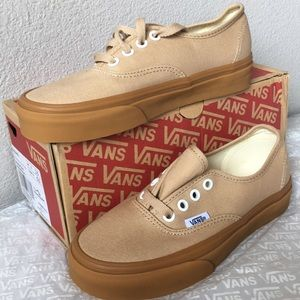 340da26d3ece Vans Shoes - Vans Authentic Sesame Gum Men s 3.5